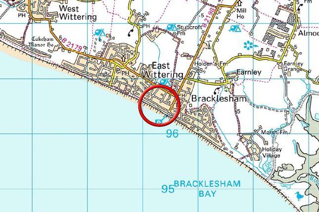 Area Map of Sea La Vie, Bracklesham Bay, W. Bracklesham Drive PO20