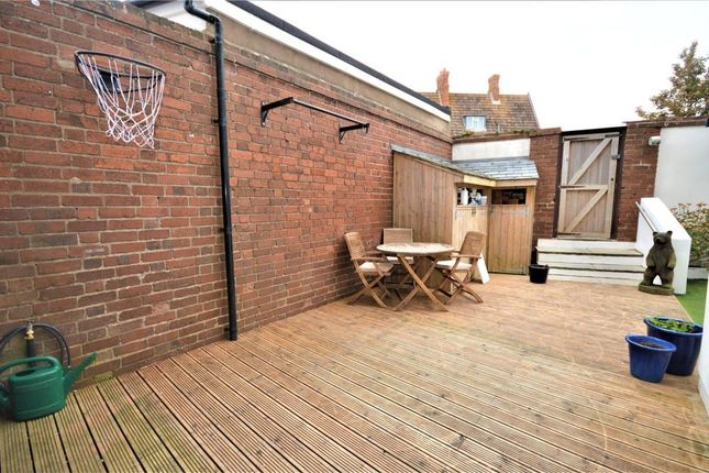 Rear Decking of Morton Crescent, Exmouth, Devon EX8