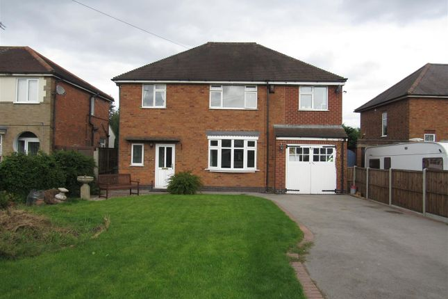 Thumbnail Detached house for sale in Blaby Road, Enderby, Leicester