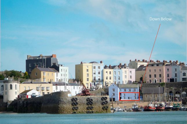Thumbnail Flat for sale in Penniless Cove Hill, Tenby
