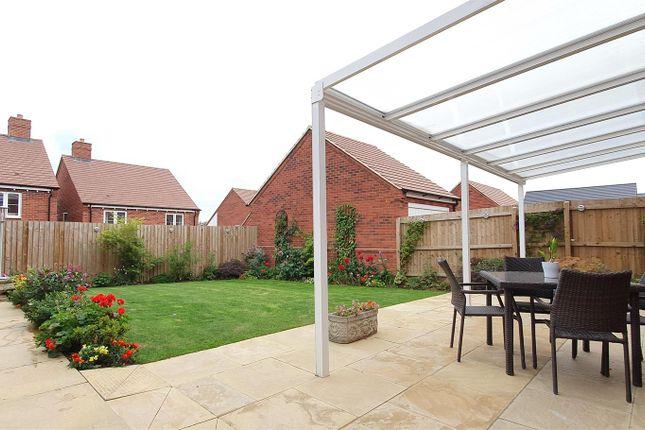 Rear Garden of Choyce Close, Hugglescote, Leicestershire LE67