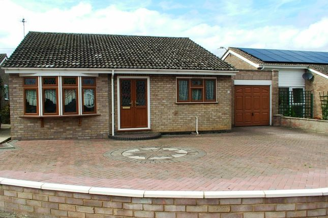 Thumbnail Detached bungalow for sale in St. Michaels Road, Long Stratton, Norwich