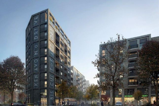 Thumbnail Flat for sale in Kenavon Drive, Reading