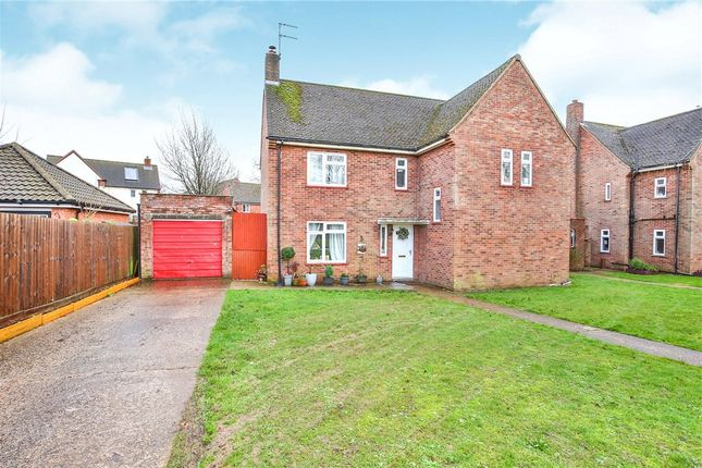 Thumbnail Detached house for sale in Embry Crescent, Old Catton, Norwich