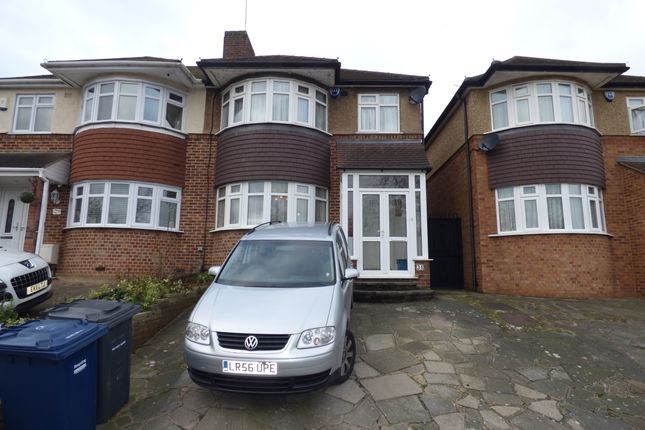Thumbnail Semi-detached house to rent in Baring Road, New Barnet
