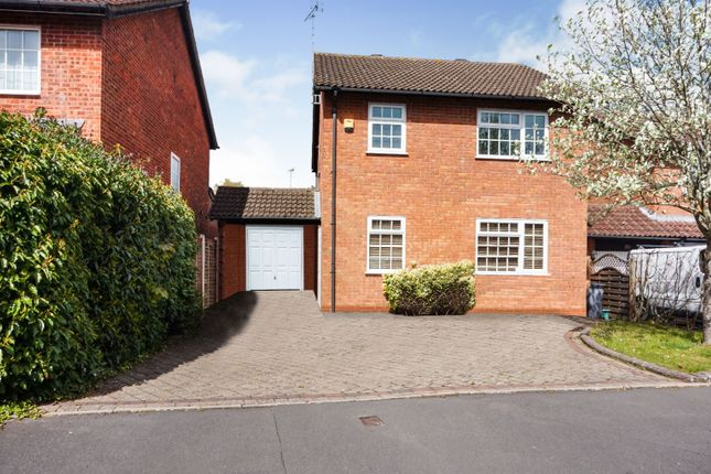 Thumbnail Detached house for sale in Framefield Drive, Solihull