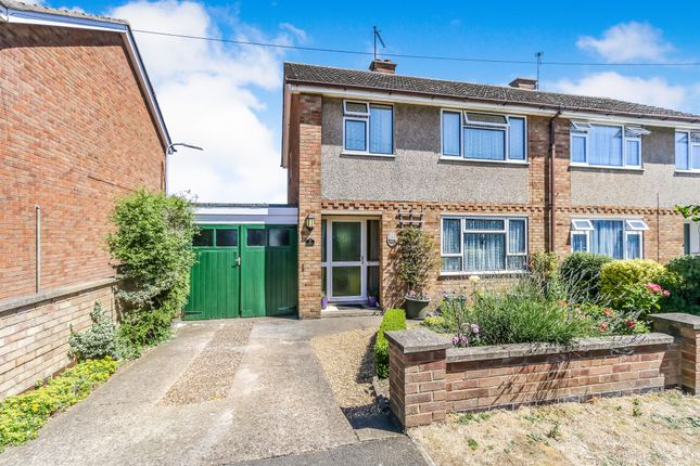 Thumbnail Semi-detached house for sale in Ash Close, Irchester, Wellingborough