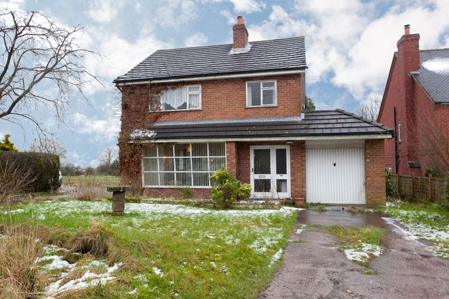 Thumbnail Detached house for sale in The Common, Dilhorne, Stoke-On-Trent