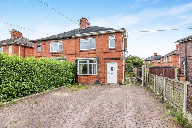 Thumbnail Semi-detached house for sale in Abbey Road, Abbey Hulton, Stoke-On-Trent