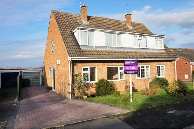 Thumbnail Semi-detached house for sale in Croft Close, Bishops Tachbrook