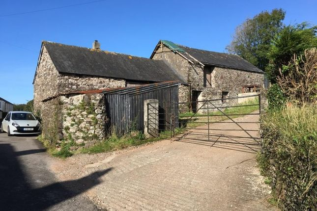 Thumbnail Barn conversion for sale in Moreleigh, Totnes