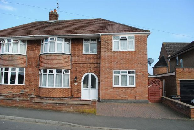 Thumbnail Semi-detached house for sale in Thornby Drive, Kingsthorpe Village, Northampton