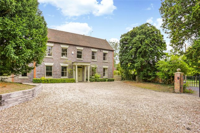 Thumbnail Detached house for sale in Marlston Road, Hermitage, Thatcham, Berkshire