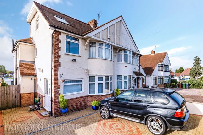 Thumbnail Semi-detached house for sale in Firswood Avenue, Stoneleigh, Epsom
