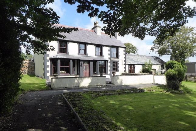 Thumbnail Detached house for sale in Gwalchmai, Holyhead