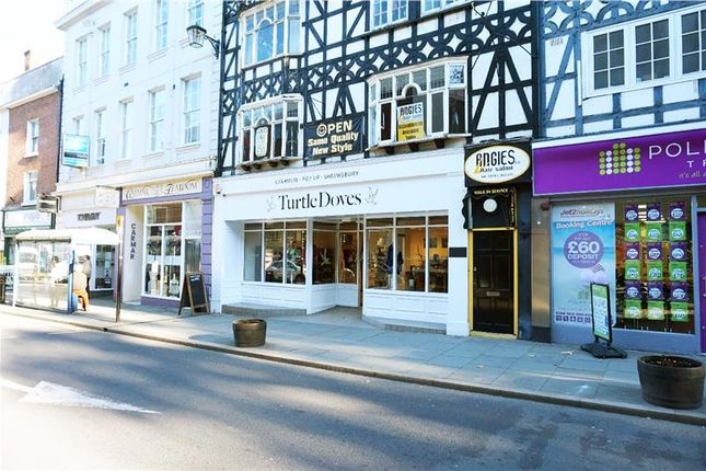 Thumbnail Retail premises for sale in Shop Unit In Prominent Retail Location, 39-40 Castle Street, Shrewsbury, Shrewsbury, Shropshire