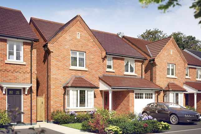 Thumbnail Detached house for sale in Off Radbourne Lane, Derby
