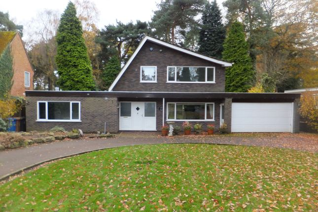 Thumbnail Detached house to rent in Talbot Avenue, Little Aston, Sutton Coldfield