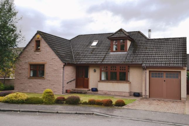 Thumbnail Detached house for sale in 7 Invererne Road, Forres