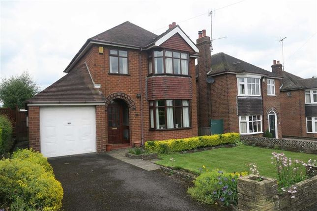 Thumbnail Detached house for sale in Highfield Avenue, Cheadle, Stoke-On-Trent