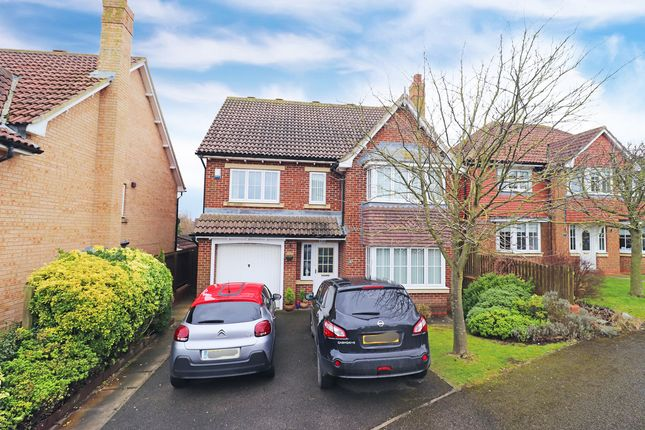 Thumbnail Detached house for sale in Chelker Close, Hartlepool