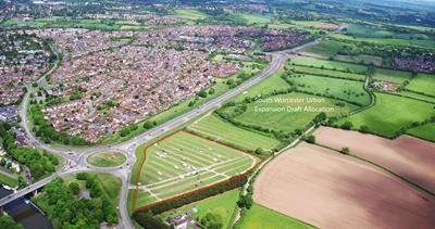 Photo of Land At, Broomhall Way, Worcester, Worcestershire WR5
