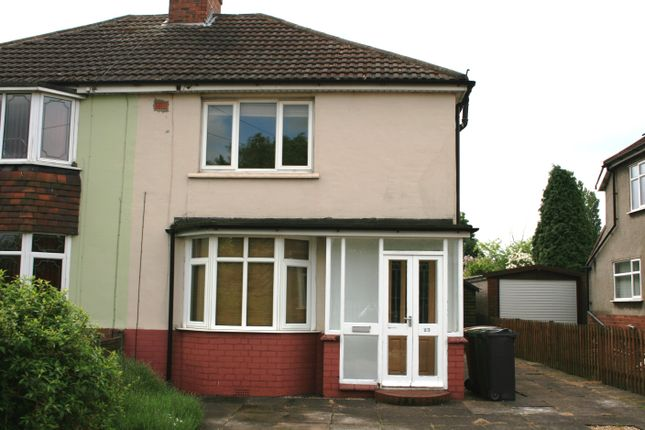 Thumbnail Semi-detached house to rent in Station Road, Aldridge, Walsall
