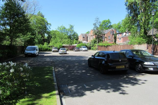 Car Park of Alexandra Apartments, Alexandra Road South, Whalley Range, Manchester. M16