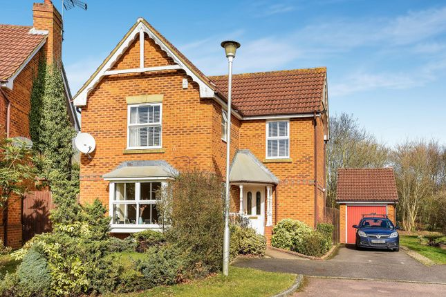 Thumbnail Detached house for sale in Cornwall Close, Warfield, Bracknell