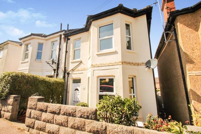 Thumbnail Semi-detached house to rent in Cranmer Road, Winton, Bournemouth
