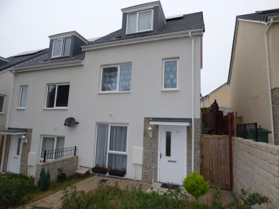 Thumbnail End terrace house for sale in Plymouth, Devon, .
