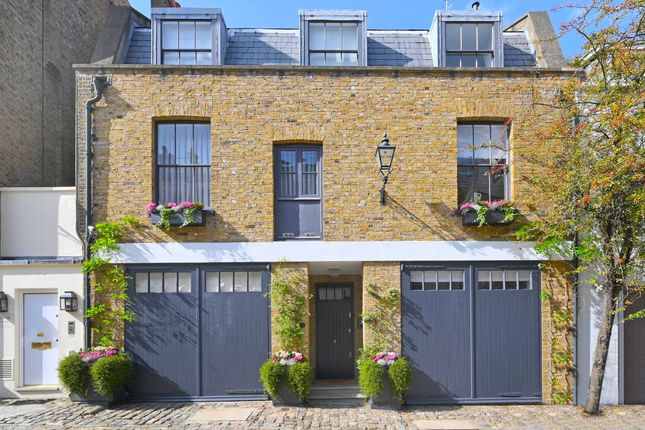 Thumbnail Mews house for sale in Belgrave Mews South, Belgravia, London