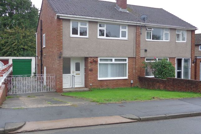Thumbnail Semi-detached house to rent in Wavell Drive, Newport