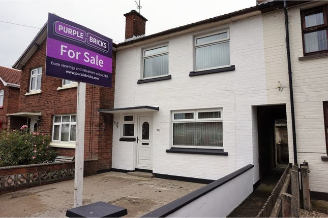 Thumbnail Terraced house for sale in Rossdowney Avenue, Londonderry