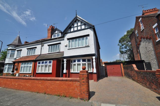 Thumbnail Semi-detached house for sale in Lyndhurst Road, Wallasey