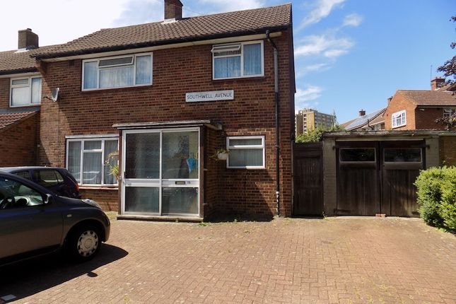 Thumbnail Terraced house to rent in Southwell Avenue, Northolt