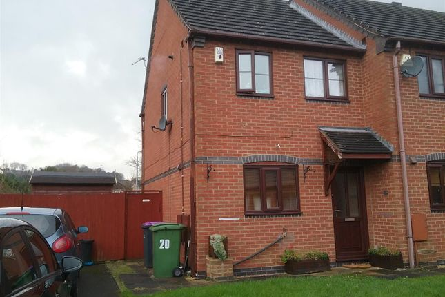 Thumbnail Terraced house for sale in Hancocks Drive, Oakengates, Telford