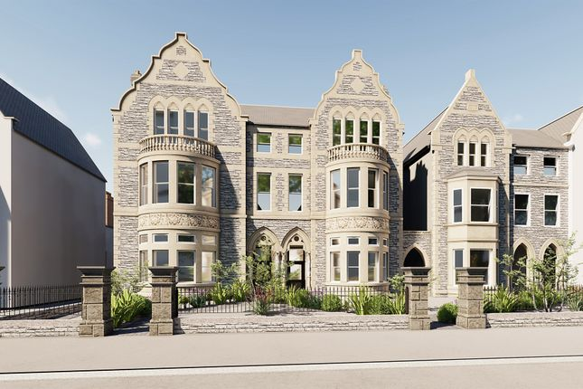 Thumbnail Flat for sale in Cathedral Road, Pontcanna, Cardiff