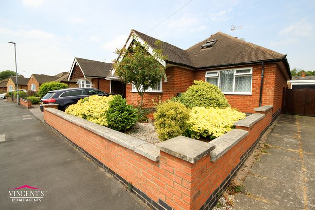 Thumbnail Bungalow for sale in Armson Avenue, Kirby Muxloe, Leicester