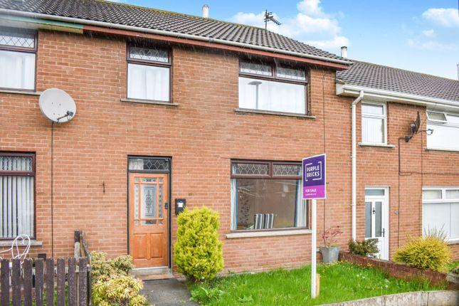 Thumbnail Terraced house for sale in Ballyoran Park, Portadown