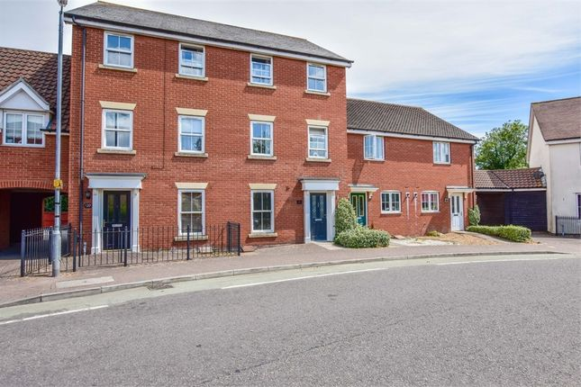 Thumbnail Town house for sale in Gavin Way, Highwoods, Colchester, Essex