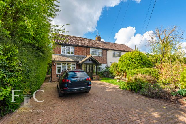 Thumbnail Semi-detached house for sale in Beaumont Road, Broxbourne