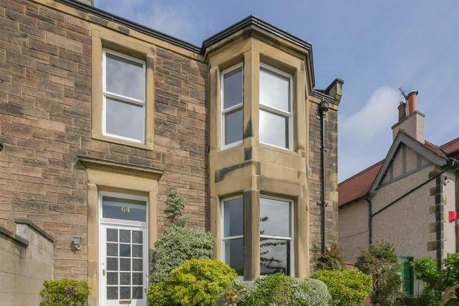 Thumbnail Semi-detached house for sale in 64 Belgrave Road, Edinburgh