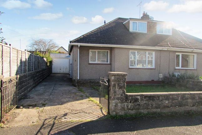 Thumbnail Bungalow to rent in St Johns Drive, Pencoed