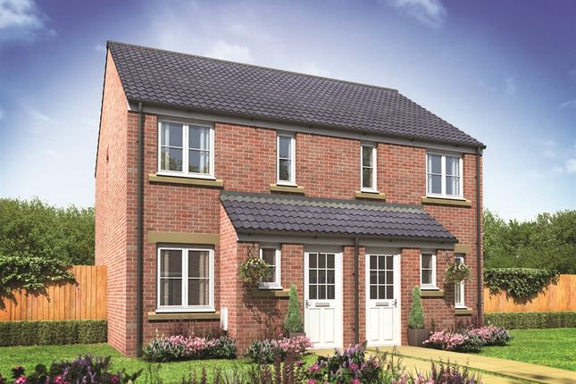 "Thumbnail Terraced house for sale in ""The Alnwick"" at Glaramara Drive, Carlisle"