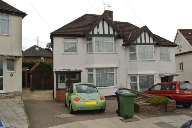 Thumbnail Semi-detached house to rent in The Ridgeway, Colindale