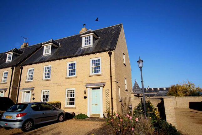 Thumbnail Town house for sale in Jubilee Terrace, Ely
