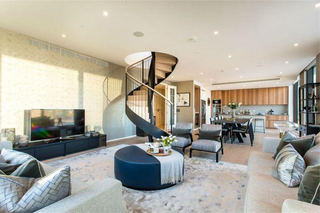 Thumbnail Flat to rent in Embassy Gardens, Nine Elms, Vauxhall