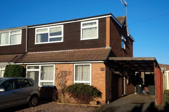 Thumbnail Semi-detached house to rent in Boughey Road, Newport
