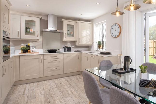 """Thumbnail Semi-detached house for sale in """"Kennett"""" at Crick Road, Hillmorton, Rugby"""